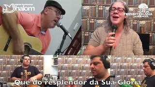 TU ÉS UM DEUS MARAVILHOSO | Fabinho Guilherme | Voz, Violão & Percussão: Hebert, Lariza & Daniel