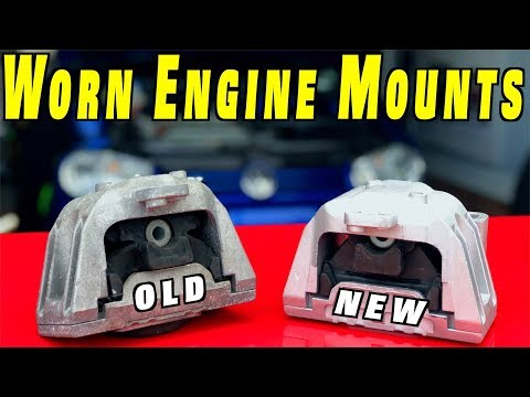 How To Replace Worn Engine Mount and Transmission Mount