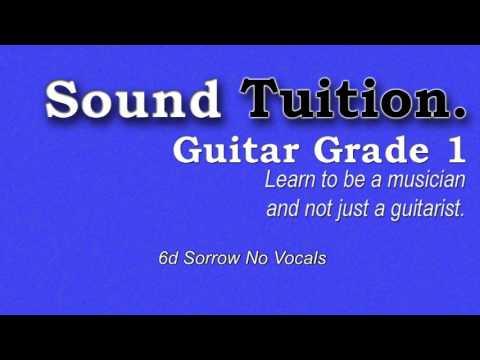 Grade 1: 6d Sorrow No Vocals