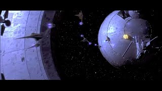 Star Wars Episode I: Naboo Space Battle scenes (no added music or dialogue)