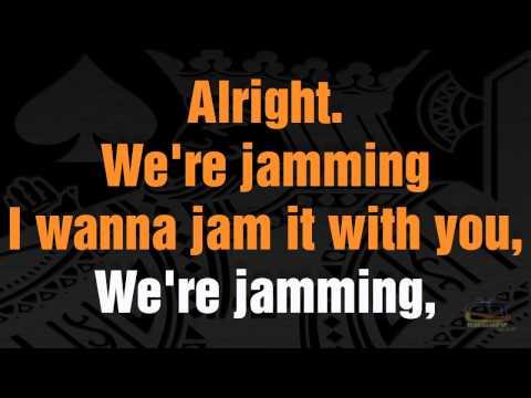 Bob Marley - Jamming HD 1080P Karaoke Demo