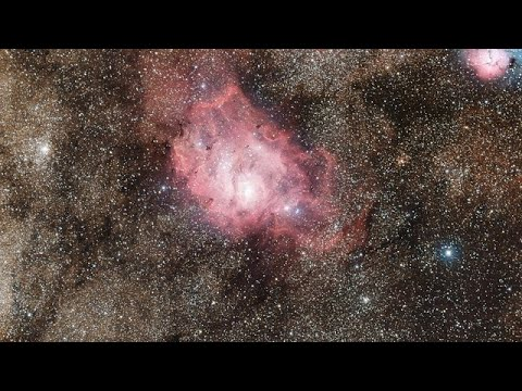 Diving into the Lagoon Nebula