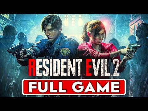 RESIDENT EVIL 2 REMAKE Gameplay Walkthrough Part 1 FULL GAME Claire & Leon Story - No Commentary