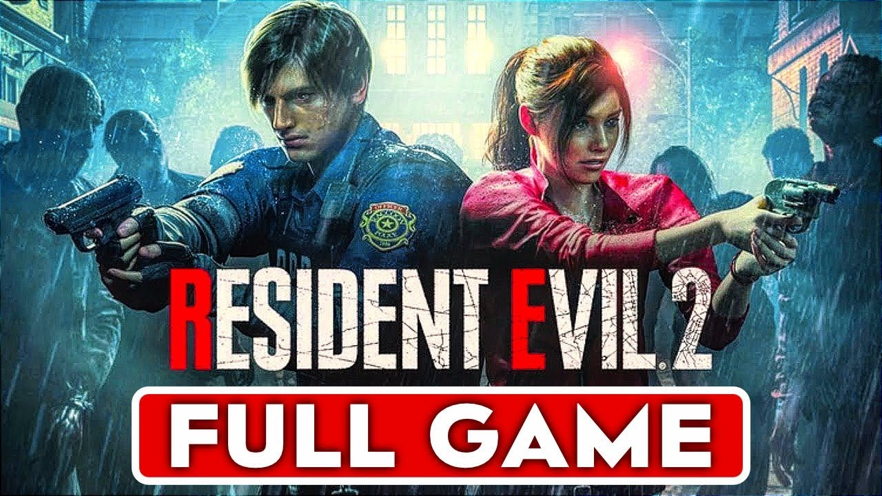 Download RESIDENT EVIL 2 REMAKE Gameplay Walkthrough Part 1 FULL GAME Claire & Leon Story - No Commentary