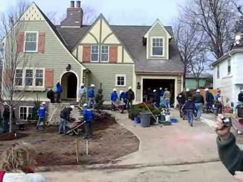 Extreme Makeover Home Edition in Kansas City -- Morning ...