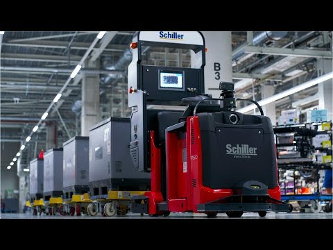 BMW Plant logistics in Production