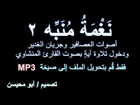 صوت منبه mp3