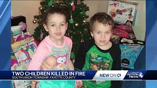 7-year-old girl, 5-year-old brother die in Fayette County fire