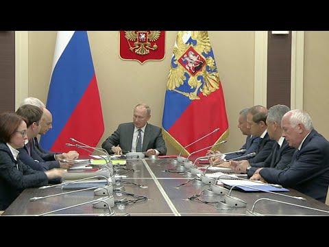 Владимир Путин провел совещание по финансовому оздоровлению Оборонно-промышленного комплекса.