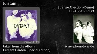 !distain - Cement Garden (Special Edition) - Strange Affection (Demo) [DE-AT7-13-17073]