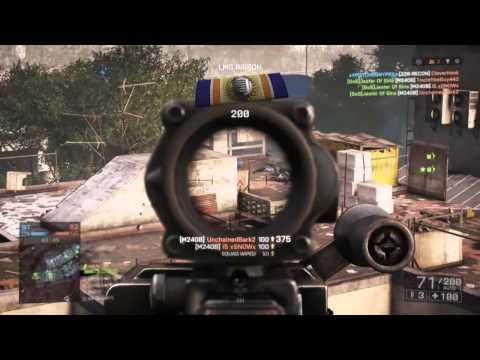 Battlefield 4 Marine Style M16, M4, 240B