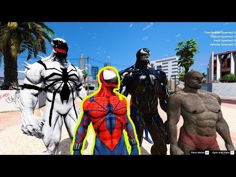 GTA 5 - Anti Venom và Spider Vemon xuất hiện   GHTG