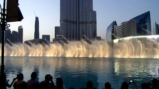 The Dubai Fountain - Dhoom Thana