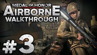 """Прохождение Medal of Honor: Airborne — Часть #3: ЦЕНА САМОПОЖЕРТВОВАНИЯ / Операция """"Нептун"""""""