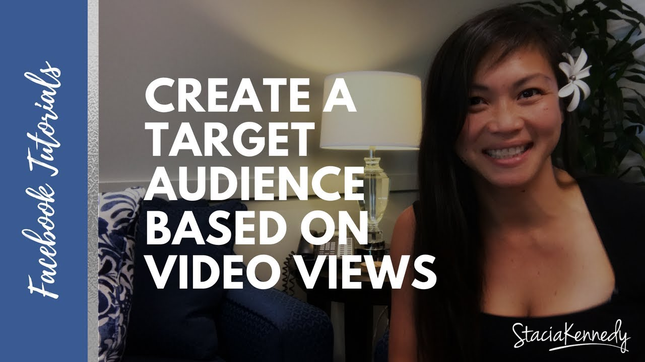 How to Create Facebook Custom Audience  Video Views #facebookads
