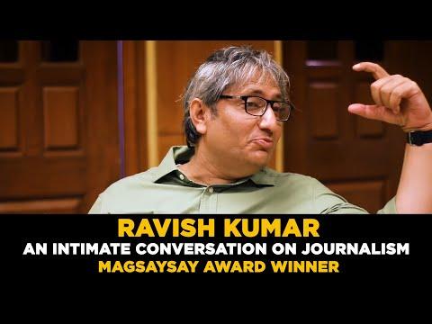 Ravish Kumar of NDTV in a candid conversation | Magsaysay Award Winner | Prime Time