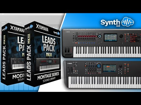 LEADS PACK MKIII SOUND BANK | YAMAHA MONTAGE / MODX | JAM | PT 1