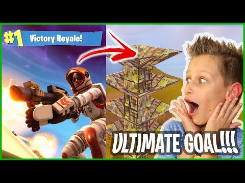 I Completed my Ultimate Goal in Fortnite Battle Royale!!!