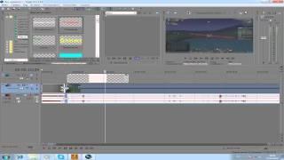 Как сделать видео на весь экран -  Vegas Pro 11 .