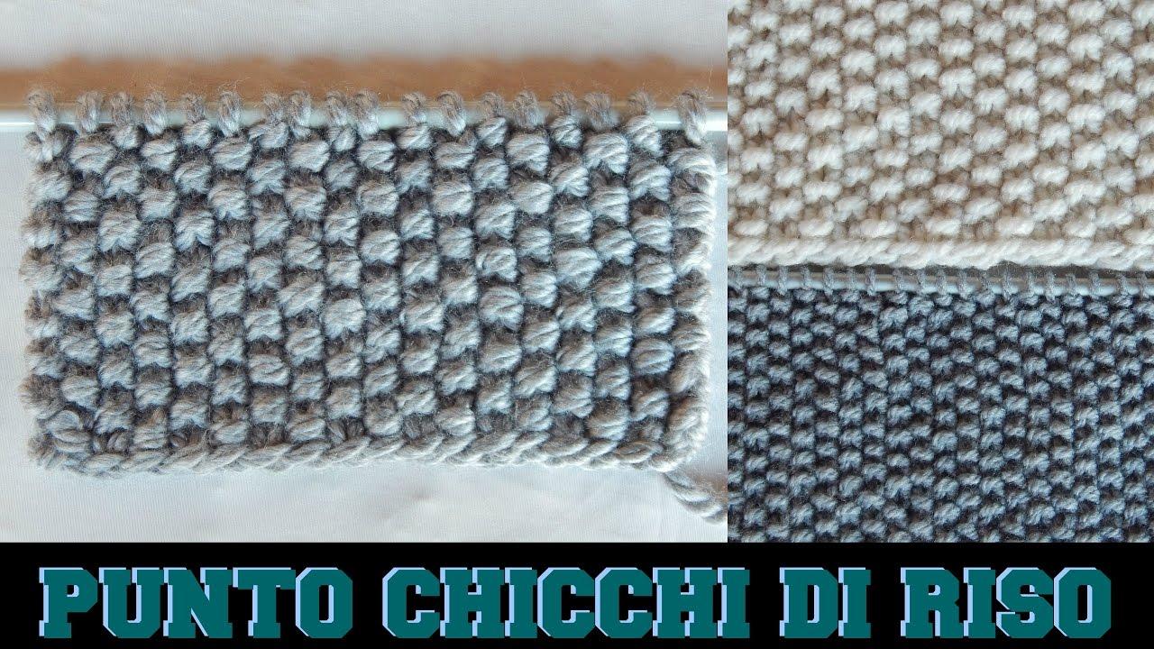 PUNTO CHICCHI DI RISO - NUNZIA VALENTI - YouTube a3575adaf8ba