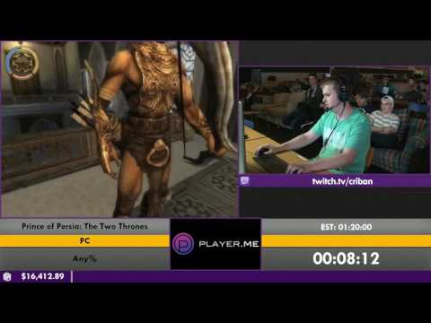 #ESA16 - Prince of Persia: The Two Thrones [Any%] by criban