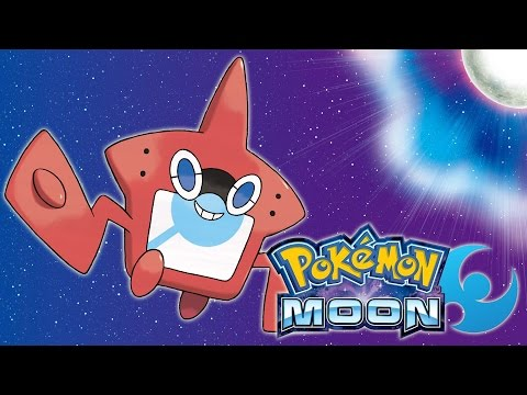 Pokemon: Moon - Rotom Pokedex