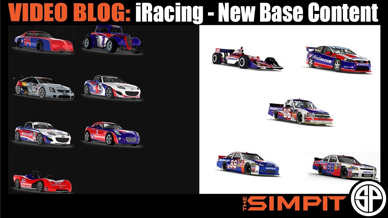 Video Blog: iRacing Base Content Increased