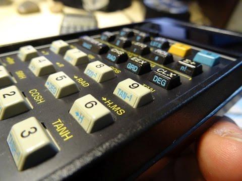HP 32E Hewlett Packard vintage calculator