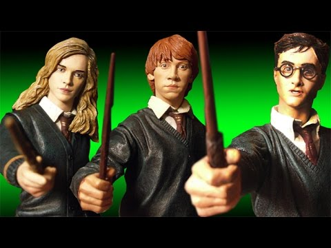 Neca harry potter hermione granger and ron weasley 12 action figure review youtube - Hermione granger et ron weasley ...