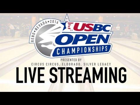2016 USBC Open Live Stream: Barnes, McBride, Young (Team)