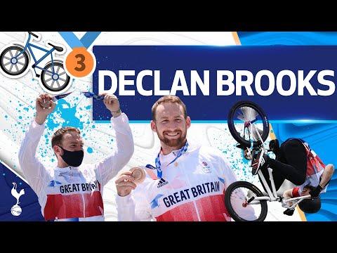 OLYMPIC MEDALIST and BMX STAR Declan Brooks pays a surprise visit to Tottenham Hotspur Stadium!