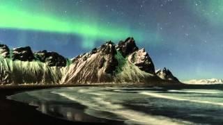Aurora Borealis in Iceland 4k