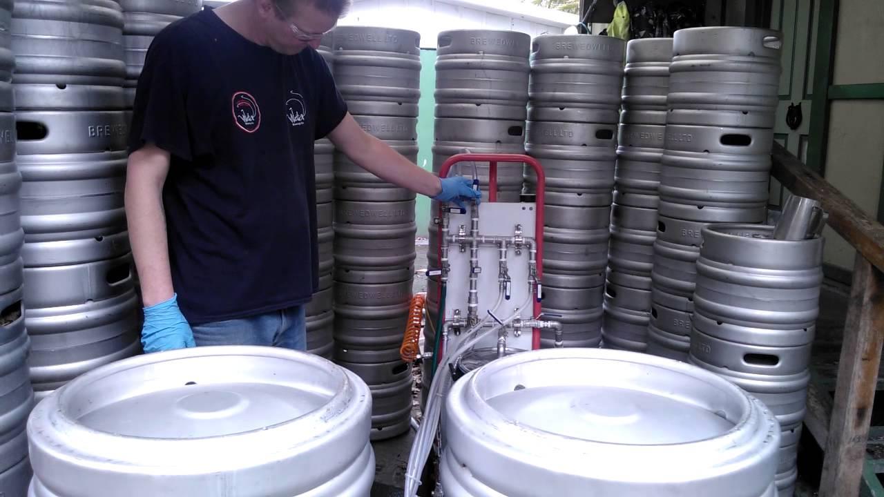 Wheely washer portable keg washer youtube wheely washer portable keg washer publicscrutiny Images