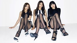 How would AOA White (OT3) sing Miniskirt (without Jimin, Cho…