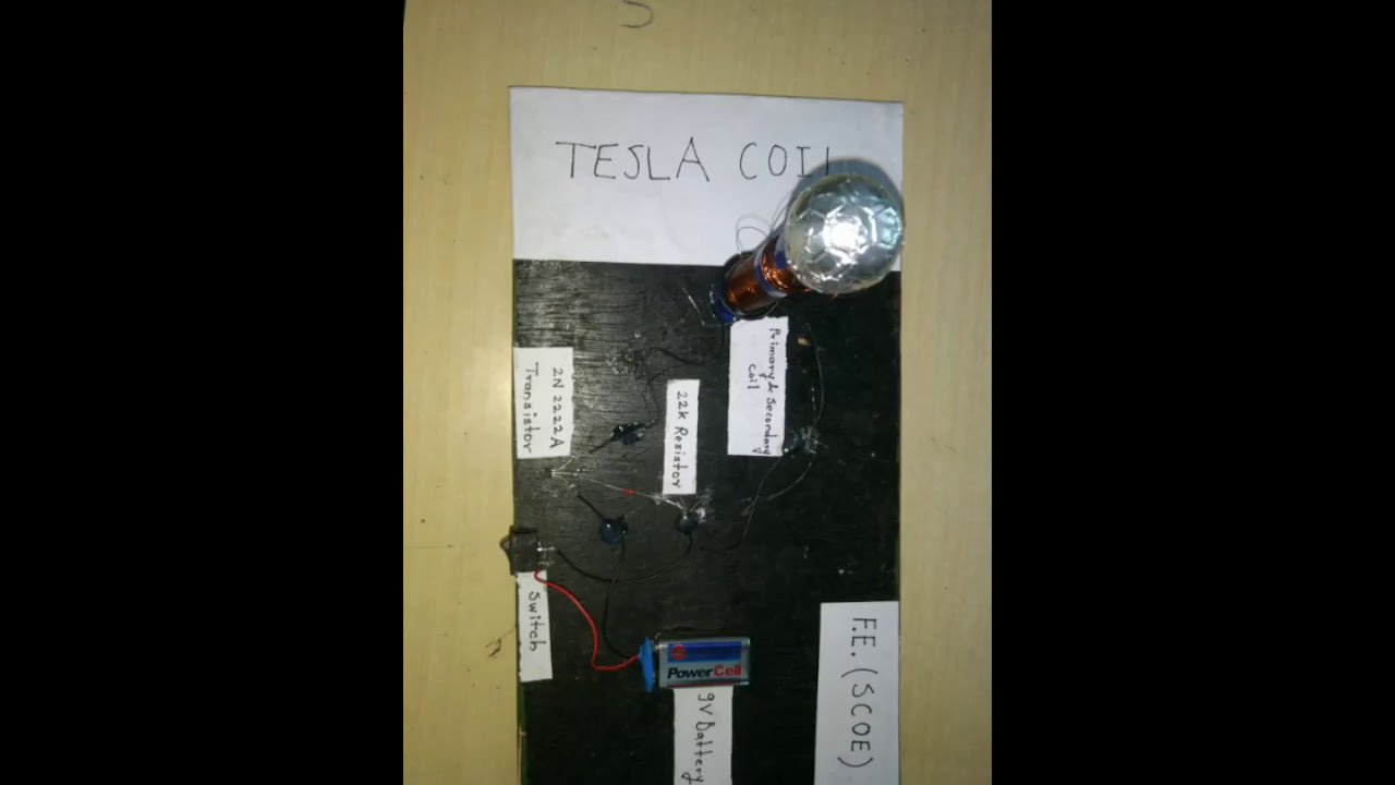 Mini Tesla coil project presentation