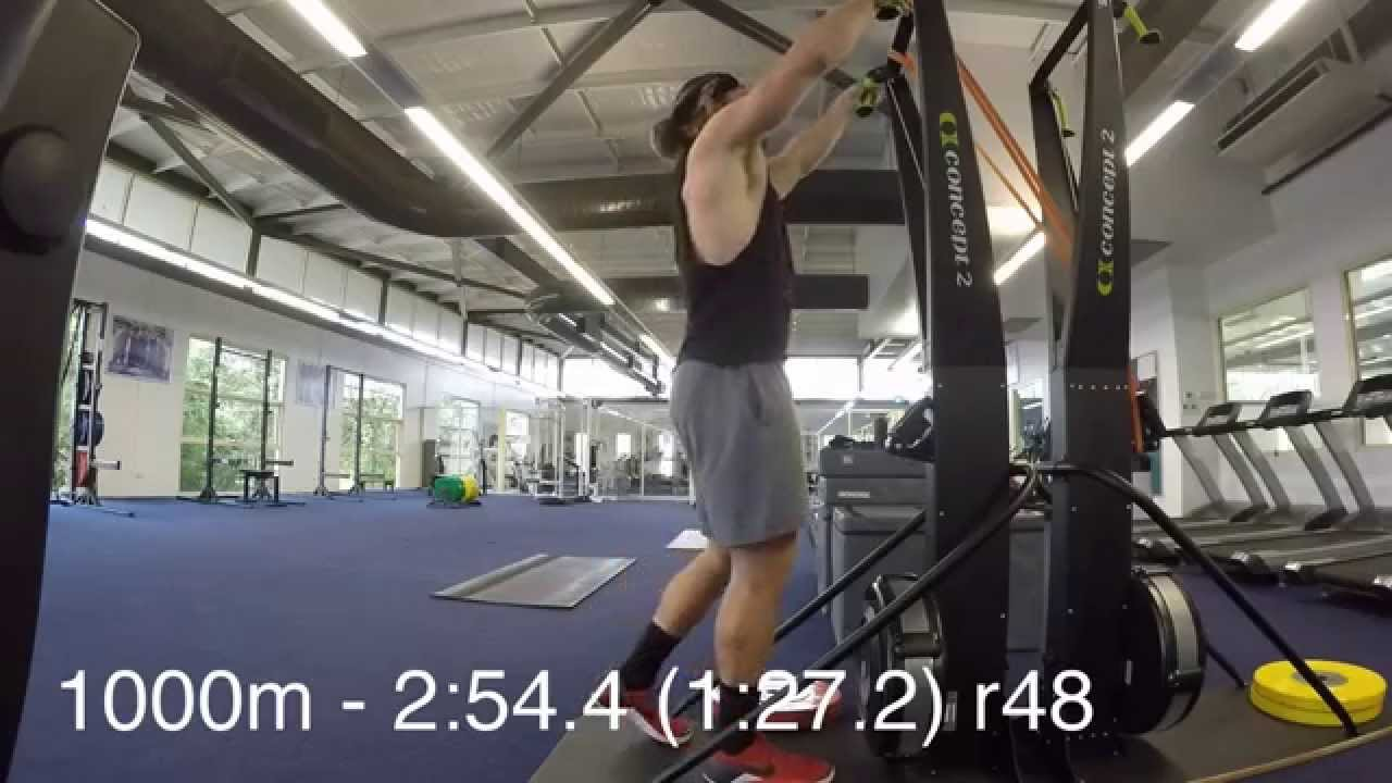 A week in training #7 with full skierg world record and warmup