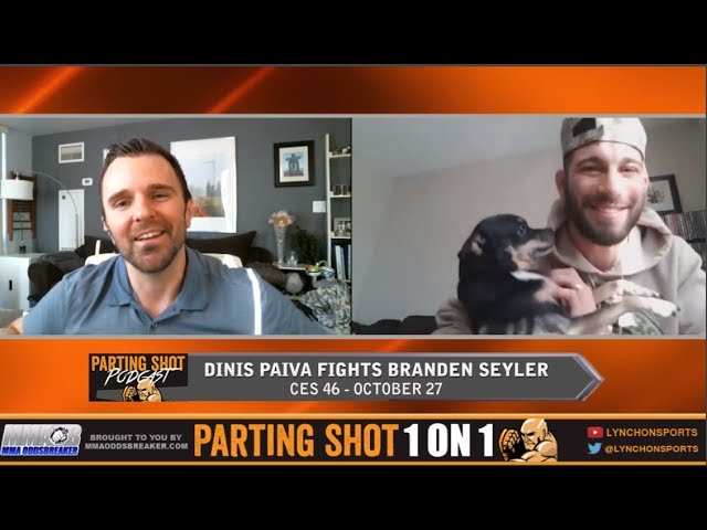 CES 46's Dinis Paiva talks Branden Seyler matchup, improved boxing and layoff