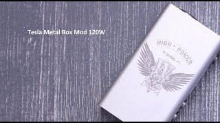 Tesla Metal Box Mod 120W