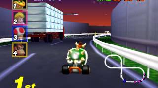Mario Kart 64 - 10 minutes of Mario Kart 64 (N64) - User video