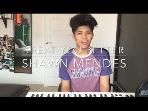 TREAT YOU BETTER/STITCHES - SHAWN MENDES (MASHUP COVER)