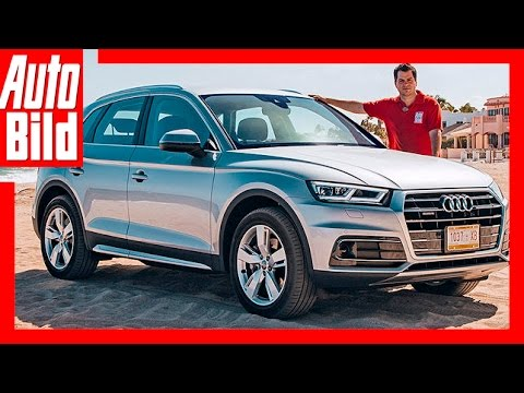 Erste Fahrt im neuen Audi Q5 (2017)