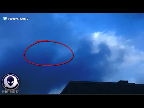 SEE IT? Spying Alien Ship Caught Hiding In Clouds Over Memphis!
