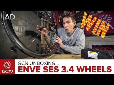 Unboxing The ENVE SES 3.4 Wheels | Win With GCN!