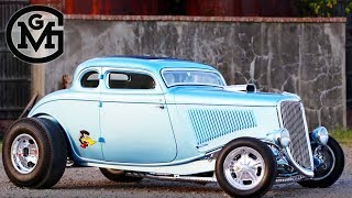 "Gas Monkey – Brian Bass Talks The '34 Ford Coupe aka ""Monkey Pecker"""