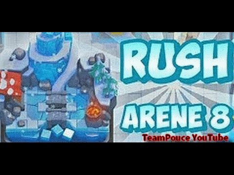 Clash royale deck boqu arene 5 6 7 rush arene 6 for Deck arene 5 miroir