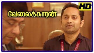 Velaikkaran Movie Scenes   Sivakarthikeyan tries to educate people on air   Nayanthara