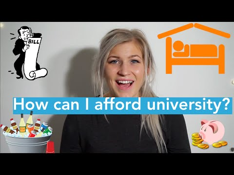 How Can I Afford University? #1 | University Guide