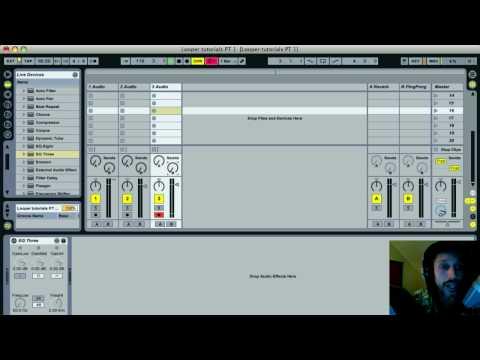 Ableton Live 8 TUTORIAL Pt. 2-Adding Beat Repeats & filters  w/ Nico Luminous