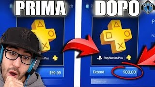 GLITCH COME AVERE PLAYSTATION PLUS GRATIS | PS4 ITA