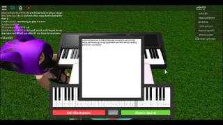 All I want For Christmas Is You on the roblox piano!